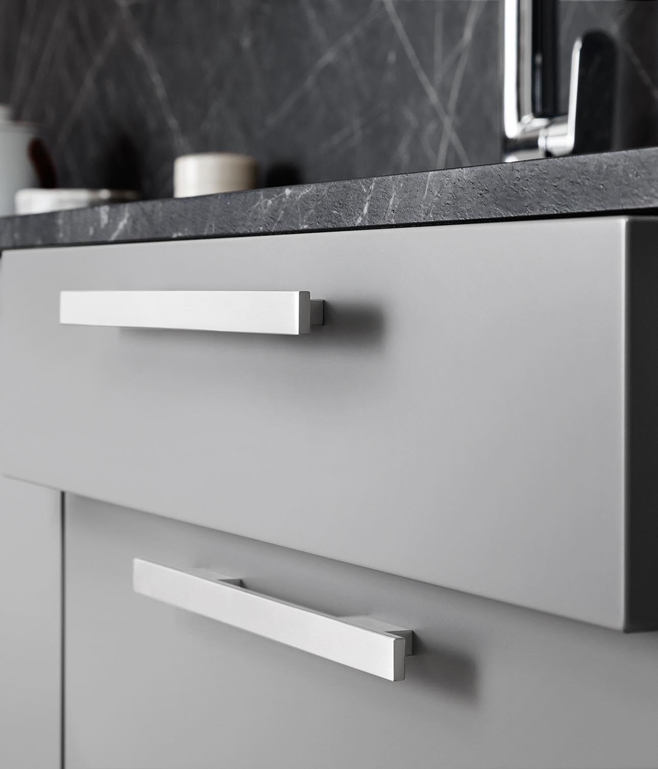 Stylish drawers.