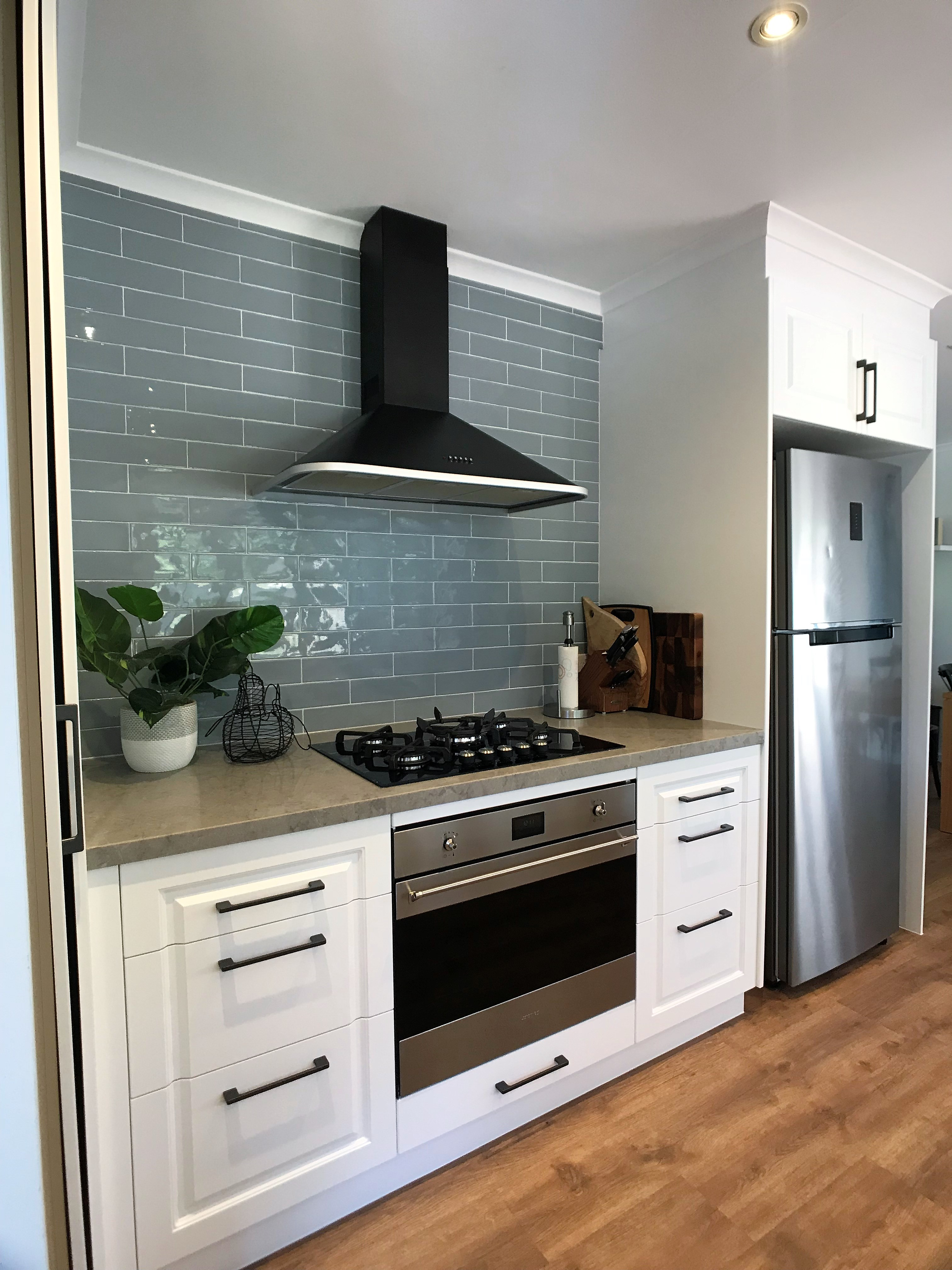 Modular kitchen renovated by Paramount Creations.